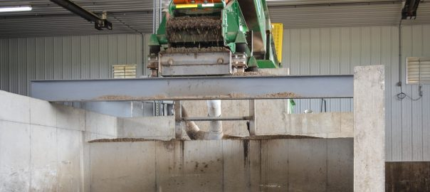photo of sand recovery system in Iowa