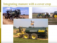 Screenshot of Using Manure to Improve Soil Health Webinar